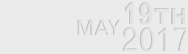 May 19th, 2017