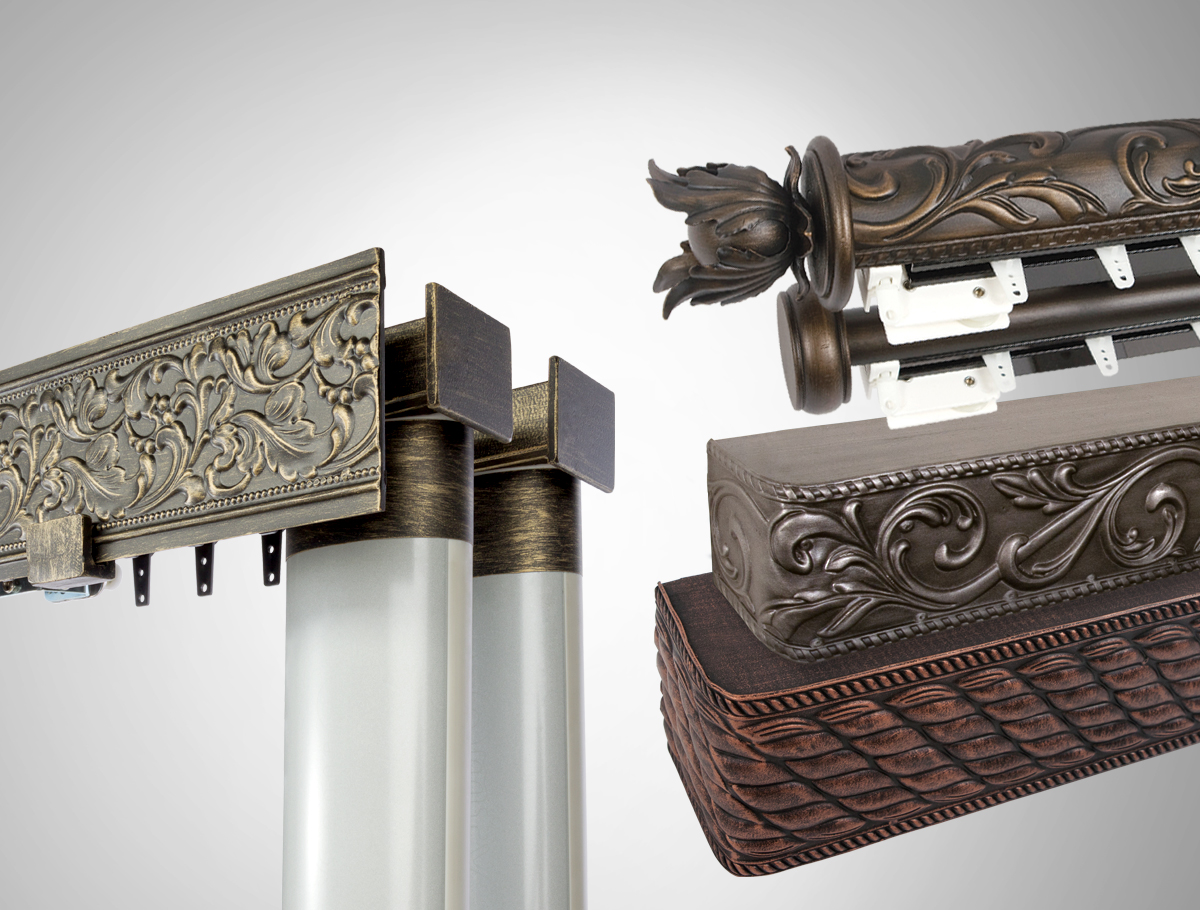 Tuscany Collection Decorative Embossed Metal